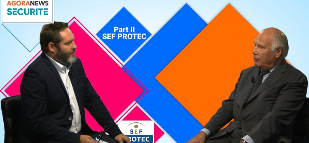 Face aux syndicats-AgoraNews Securite-Agora Medias-Jacques Lefranc président de SEF PROTEC