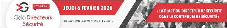 Gala Directeurs Sécurité 2020