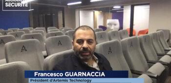 Francesco GUARNACCIA, Président d'Artémis Technology – Interview flash - Agora News Sécurité