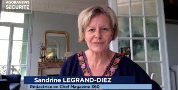 Sandrine Legrand-Diez, rédactrice en chef du magazine 360 – Interview flash - Agora News Sécurité