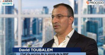 David Toubalem, Chef du service de la sûreté de la Bibliothèque Nationale de France – Parcours - Agora News Sécurité