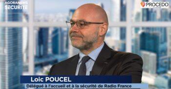 Loic Poucel, Délégué à l'accueil et à la sécurité de Radio France – Parcours - Agora News Sécurité