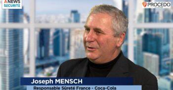 Joseph Mensch, responsable sûreté Coca Cola – Parcours - Agora News Sécurité