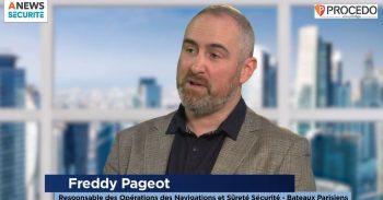 Freddy Pageot, Responsable des opérations des navigations et sûreté-sécurité aux Bateaux Parisiens – Parcours - Agora News Sécurité