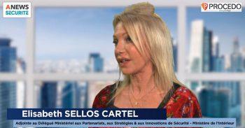 Elisabeth Sellos-Cartel, Adjointe au Délégué ministériel aux partenariats, aux stratégies et aux innovations de sécurité – Ministère de l'Intérieur – Parcours - Agora News Sécurité