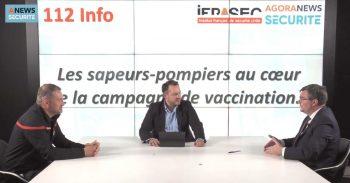 Les sapeurs-pompiers au cœur de la campagne de vaccination – 112 Info - Agora News Sécurité