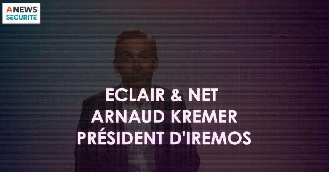 Arnaud Kremer, président d'Iremos – Eclair & Net - Agora News Sécurité